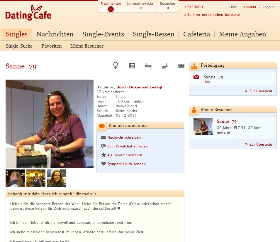 www.dating cafe.de Bergheim