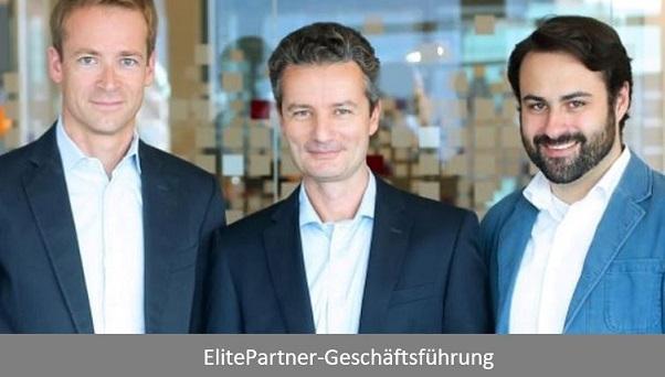 ElitePartner Geschäftsführung: Henning Rönneberg, Tim Schiffers und Marc Schachtel