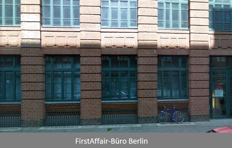 FirstAffair-Büro Berlin