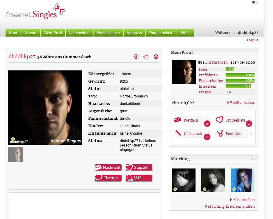 Avbryte freenet single.de