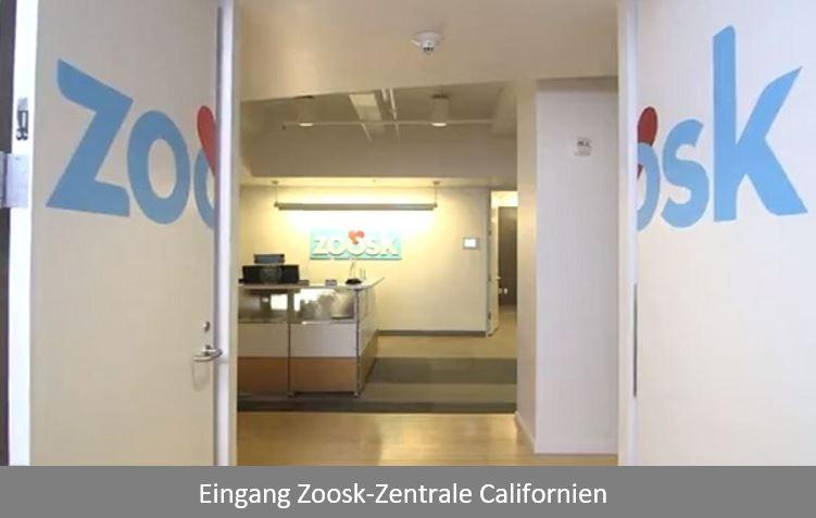 Die Zoosk-Zentrale