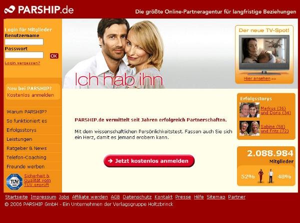 Online partnervermittlung im test