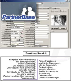 Software partnervermittlung
