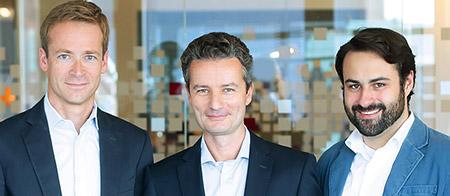 Die PARSHIP-Trias Henning Rönneberg, Tim Schiffers und Marc Schachtel