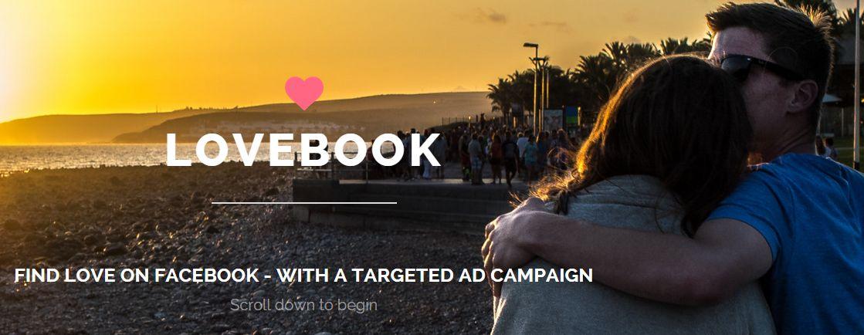 lovebook Facebook Werbung
