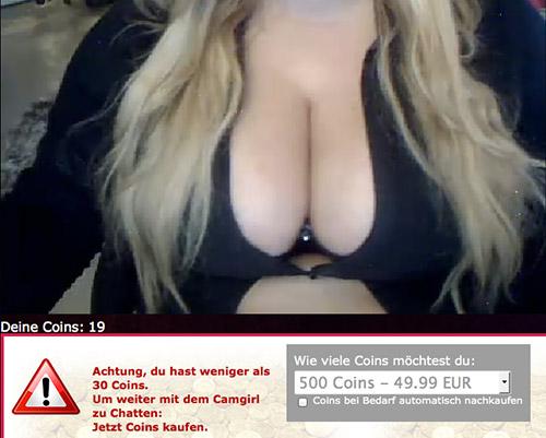 Live Sexchat bei 6raum.de