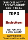 Top3 Singlebörse 2016 DISQ