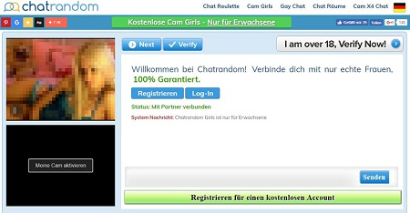 Cam Girls bei Chatrandom