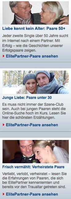 ElitePartner.de Erfolgsgeschichten