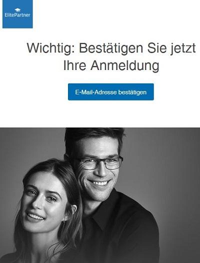 ElitePartner Gutschein Bestaetigungsmail