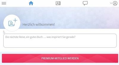 ElitePartner Gutschein Button Premium-Mitglied werden anklicken