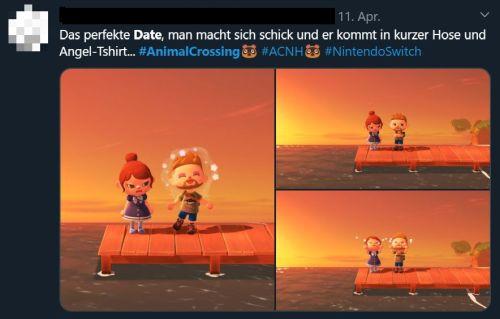 Animal Crossing 1. Date