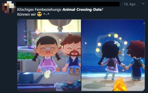 Fernbeziehung date animal crossing