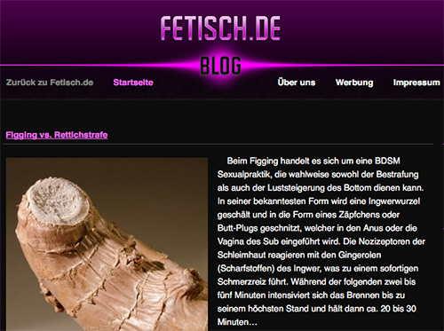 """""""Fetisch-de"""