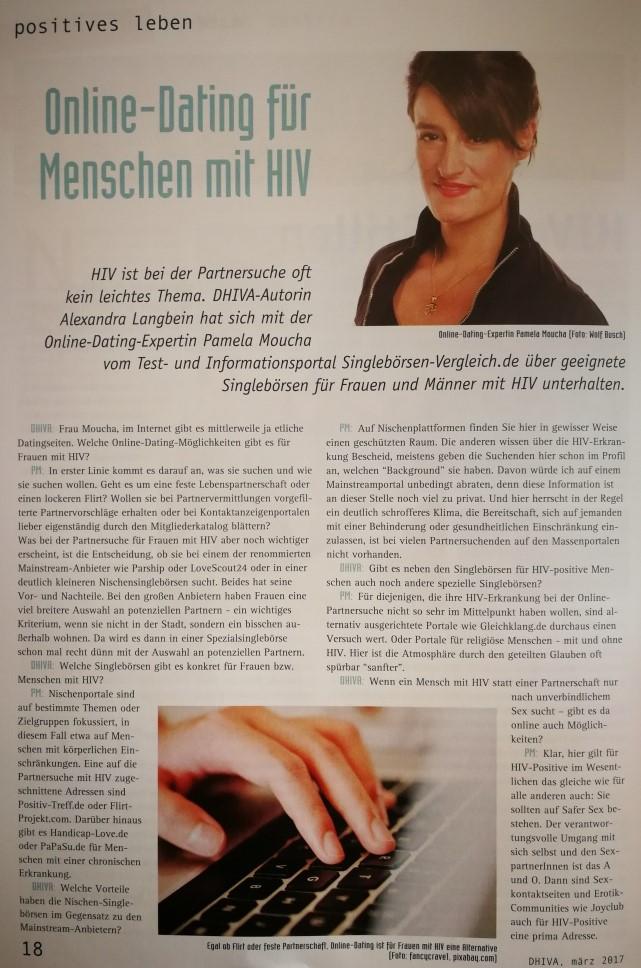 Online-dating für menschen mit HIV