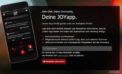 Joy Club App