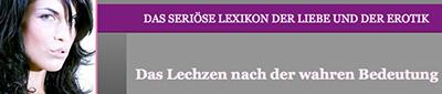Gebhard Roese Lechzen.de Lexikon der Liebe und der Erotik