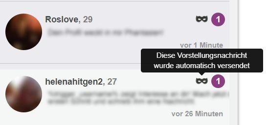 kennzeichnung vorstellungsnachricht posteingang meincasualdate.de