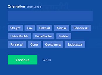 Wahre Vielfalt von no-sex bis übersinnlich-sexuell - alles möglich im OkCupid Universum…