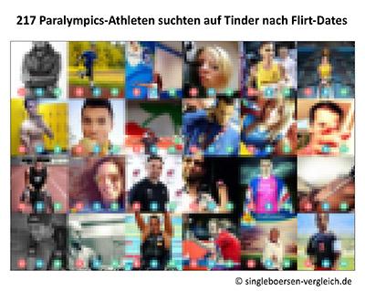 Paralympics Athleten auf Tinder