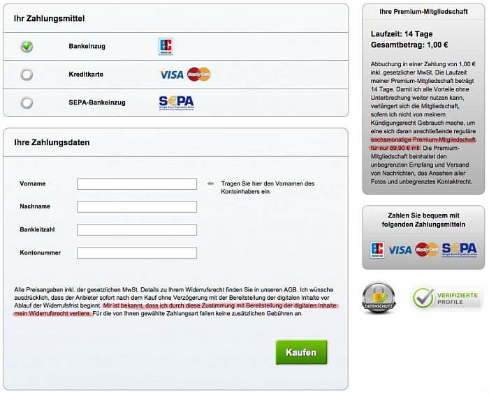 Betrügerische AGB: Erzwungener freiwilliger Verzicht aufs Widerrufsrecht