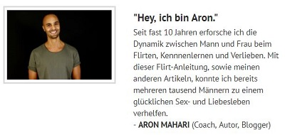Pick-Up-Artist: Aron mahari im Interview
