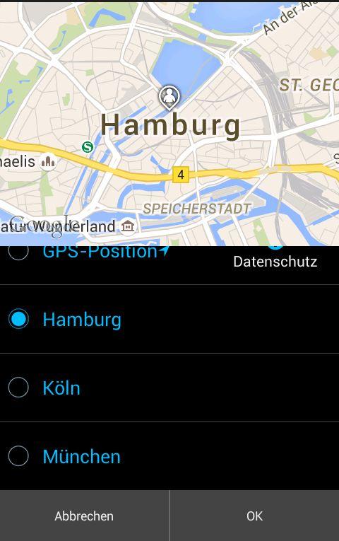 PlanetRomeo App Standortänderungen
