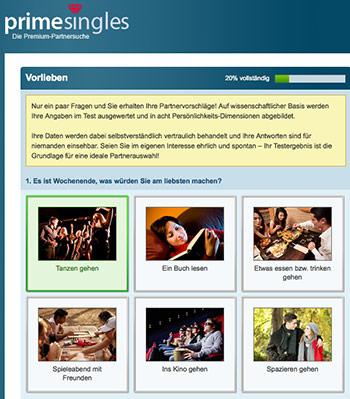 Primesingles-Testfragenbogen