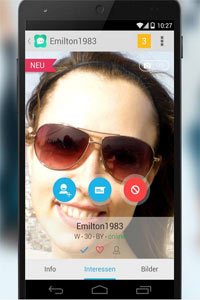 Quatscha mobil mit App für iOS und Android