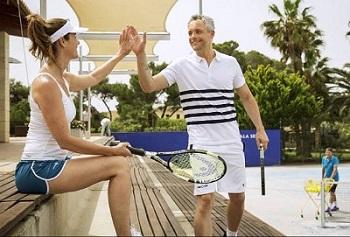 Robinson Club Spanien Mallorca, Tennis spielen
