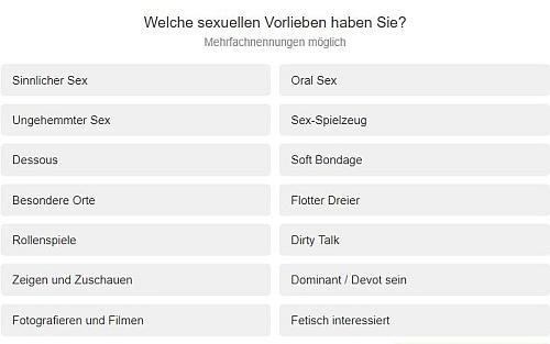 sexuelle vorlieben seitensprungrevier