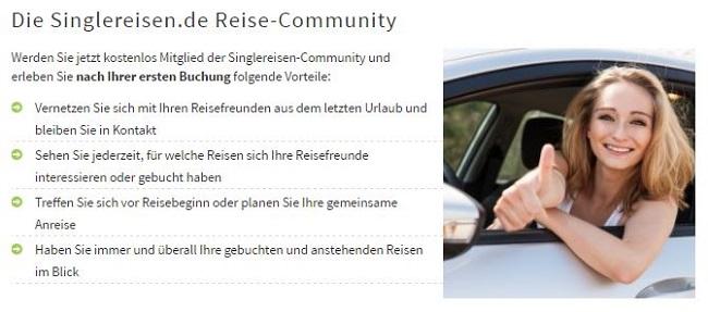 Singlereisen.de Reise-Community