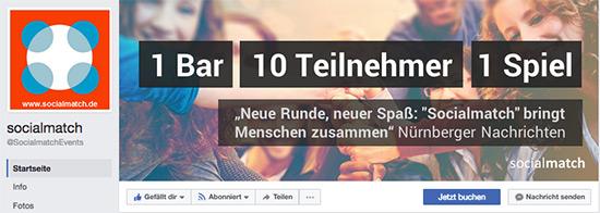 Socialmatch Agentur auf Facebook