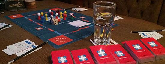 Das eigens entworfene Socialmatch Spiel