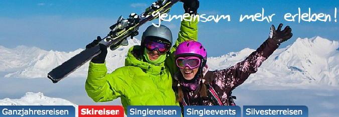 SUNWAVE Singlereisen Austria Winterreisen