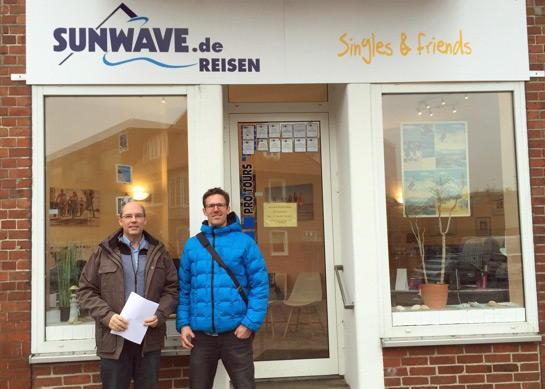 SUNWAVE Zentrale mit Chef Ralf Benecke in Hamburg