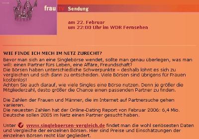 online-singleboersen