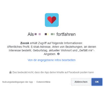 zoosk facebook app
