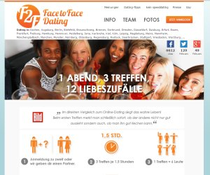 logo F2F - Face to Face Dating blind-date und speed-date