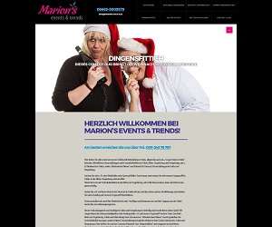 logo Marion's events & trends blind-date und speed-date