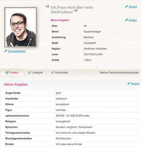 be2-Profil