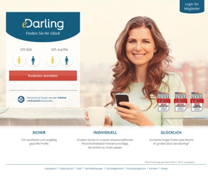 e-Darling.de screen