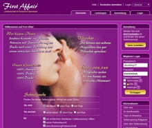 First Affair Screenshot