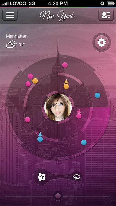 LOVOO App Flirtradar