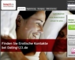 so sah Dating123.de aus