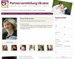 Screenshot Partnervermittlung-Ukraine.net