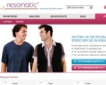 so sah Resonatic.com aus