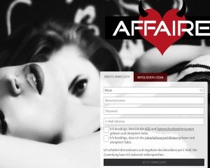 Screenshot Affaire.com