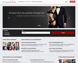 Screenshot Arrangement-Partner.com