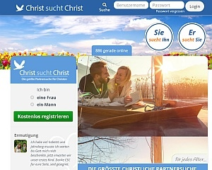 Screenshot Christ-sucht-Christ.de